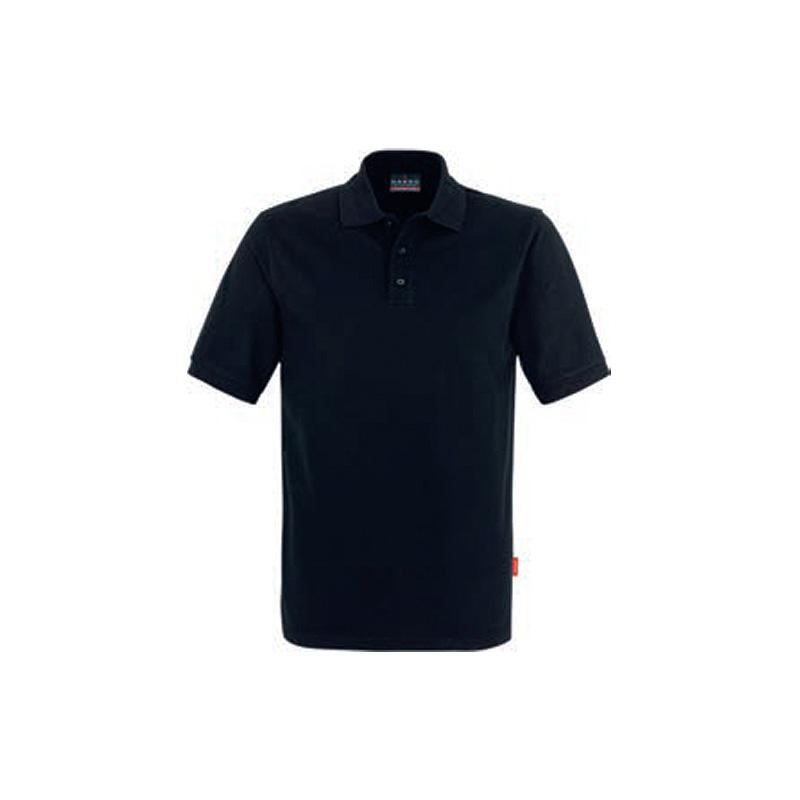 Poloshirt-Top-Schwarz