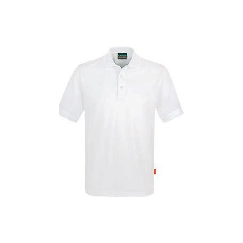 Poloshirt-Top-Weiss