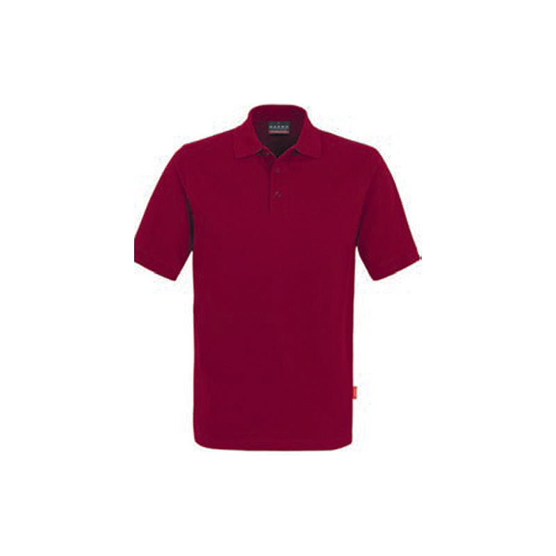 Poloshirt-Top-Weinrot