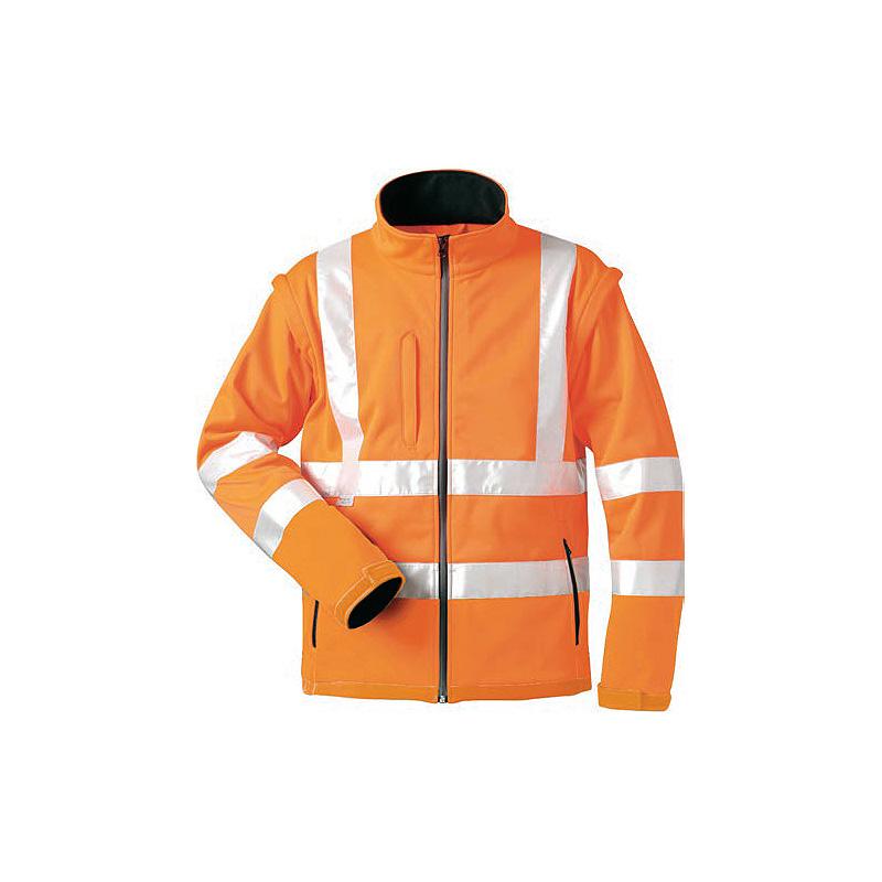 Warnschutz-Softshell-Jacke-o