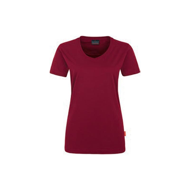 Woman-V-ShirtWoman-V-Shirt-Performance-wr-Performance-Weinrot