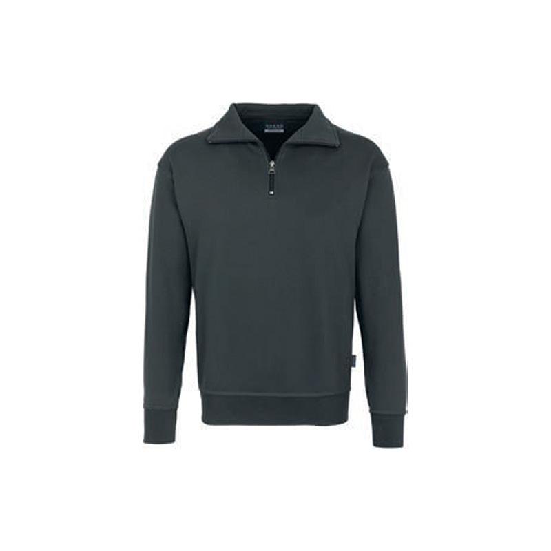 Zip-Sweatshirt-Premium-Anthrazit
