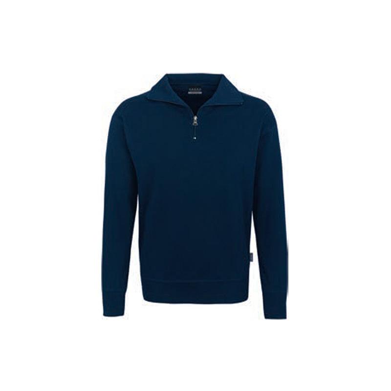 Zip-Sweatshirt-Premium-Tinte
